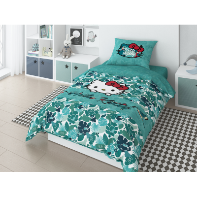 "Комплект постельного белья ""Minnie"" 1,5 СП Tropic hello kitty"