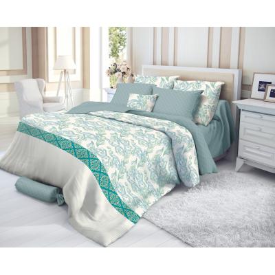 """Комплект постельного белья """"Verossa"""" Сатин  2,0 СП Azure"""