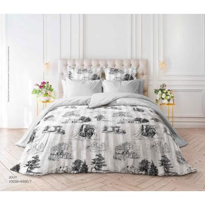 """Комплект постельного белья """"Verossa"""" Сатин Евро Jouy"""